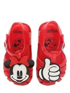 SCENTED MINNIE MOUSE RUBBER SANDALS