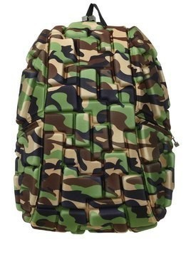 BLOK CAMOUFLAGE 3D EMBOSSED BACKPACKS