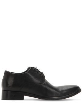 NOLAN LEATHER LACE-UP DERBY SHOES