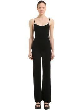 WOOL RIB KNIT JUMPSUIT