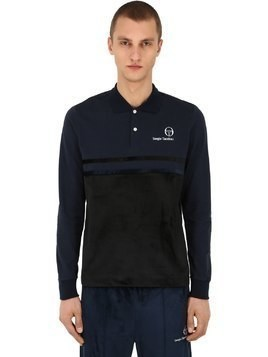 MW88 LONG SLEEVE COTTON POLO SHIRT