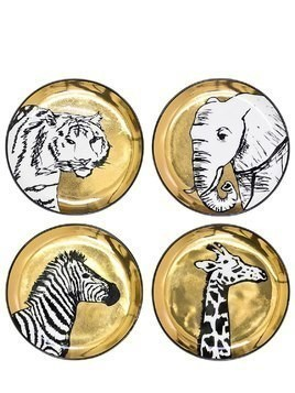 ANIMALIA SET OF 4 PORCELAIN COASTERS