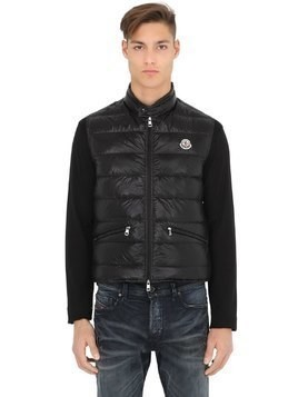 GUI QUILTED NYLON DOWN VEST