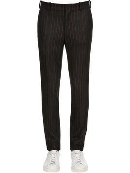 17CM STRIPED WOOL TROUSERS