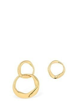 DISTORTED FIGARO ASYMMETRICAL EARRINGS