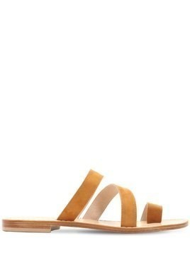 10MM PAESTUM SUEDE SANDALS