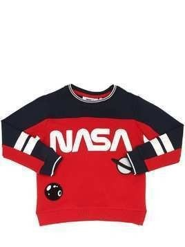 NASA PRINTED COTTON SWEATSHIRT