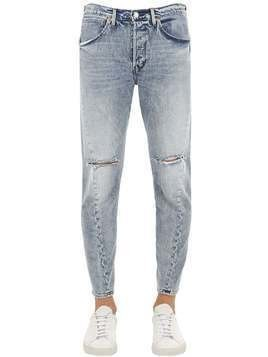 T2001 VESPERTINE COTTON DENIM JEANS