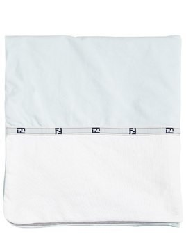 FF BAND COTTON JERSEY BLANKET