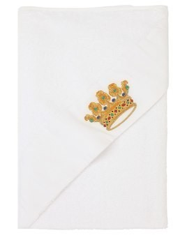 HAND-EMBROIDERED HOODED TOWEL