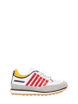 251 PATENT STRIPES LEATHER SNEAKERS