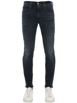 512 SLIM TAPER FIT COTTON DENIM JEANS