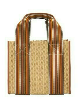 The Suitcase Woven Mini Tote Bag