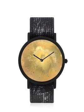 AVANT EXPOSED WATCH BLACK SILVER DOTS