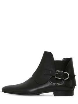 20MM LEATHER CHELSEA BOOTS