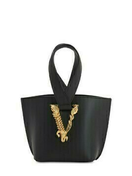 Virtus Leather Top Handle Bag