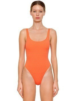 STUDDED LYCRA ONE PIECE SWIMSUIT