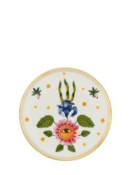 FLOWER EYE PORCELAIN PLATE