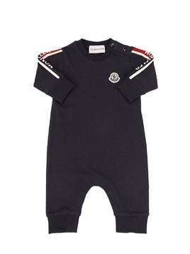 COTTON PIQUET ROMPER