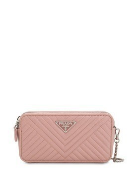 QUILTED NAPPA LEATHER SHOULDER BAG