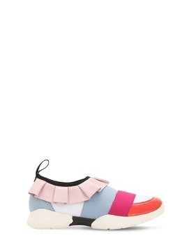 NEOPRENE SLIP-ON SNEAKERS