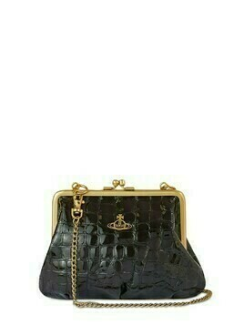 Archive Orb Croc Embossed Purse Bag