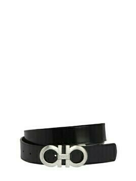 35mm Shiny Lux Reversible Leather Belt