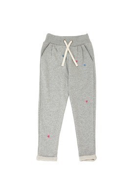 STAR PATCHES COTTON SWEATPANTS