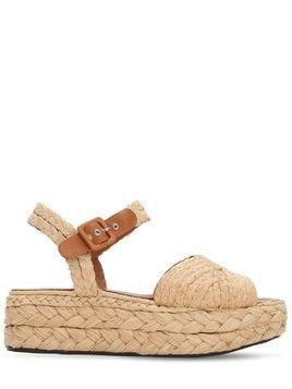 50MM AUDE RAFFIA WEDGES
