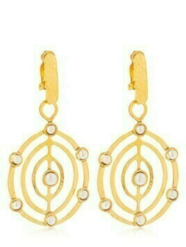 Ellipse Clip-on Earrings