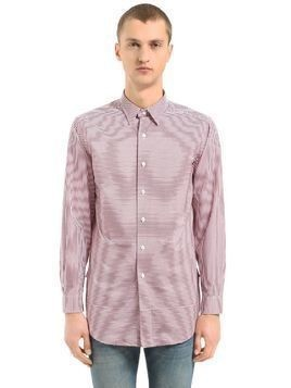 HORLEY STRIPED COTTON TUNIC SHIRT