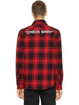"""CHECK SHIRT"" COTTON FLANNEL SHIRT"