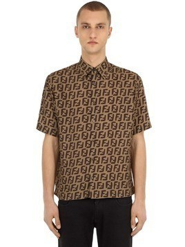 ALLOVER PRINTED BOWLING SHIRT