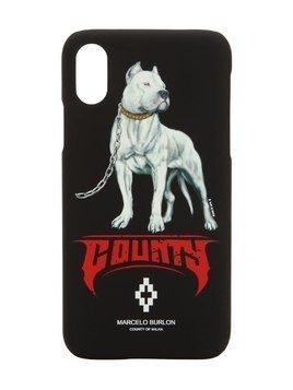 DOGO PRINTED IPHONE X CASE