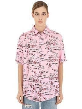 HAWAII ISLAND PRINTED SHIRT