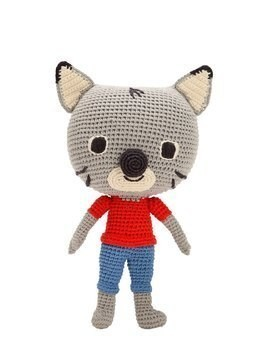 HAND-CROCHETED COTTON CAT