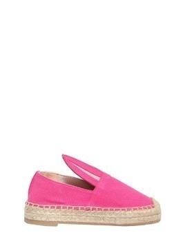 BUNNY COTTON CANVAS ESPADRILLES