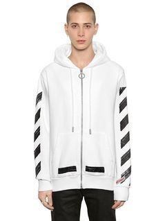 STRIPES&ARROWS HOODED SWEATSHIRT