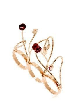 BLOOMS THREE FINGER RING