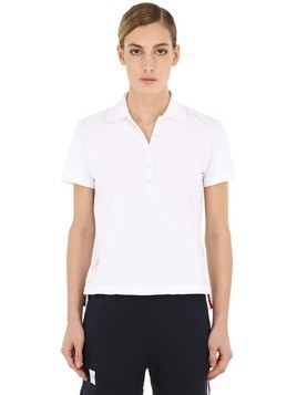 RELAXED FIT COTTON POLO SHIRT