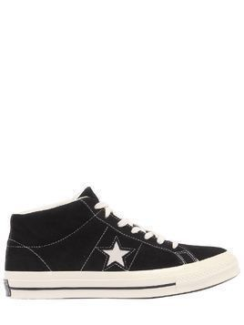 ONE STAR SUEDE MID TOP SNEAKERS