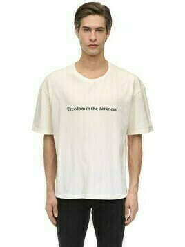Quote Cotton Jersey T-shirt