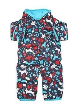 WATER-RESISTANT NYLON DOWN ROMPER