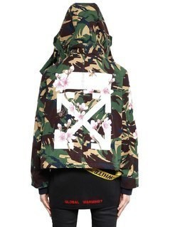 M65 CAMO&CHERRY BLOSSOM CANVAS JACKET