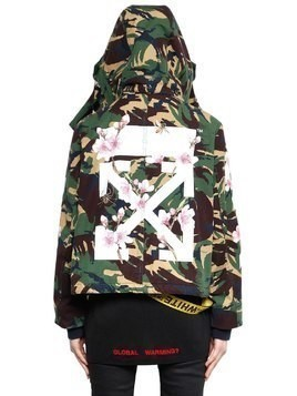 M65 CAMO & CHERRY BLOSSOM CANVAS JACKET