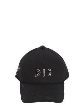 DIE DISTRESSED BASEBALL HAT
