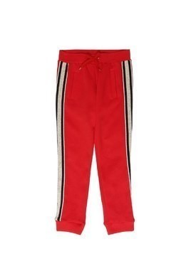 MILANO JERSEY SWEATPANTS W/ SIDE BANDS