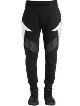 NEOPRENE JERSEY SWEATPANTS
