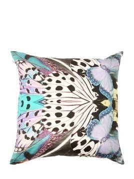 SMALL FLYING WINGS SATIN ACCENT PILLOW