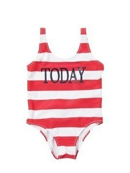 TODAY PRINT LYCRA ONE PIECE SWIMSUIT